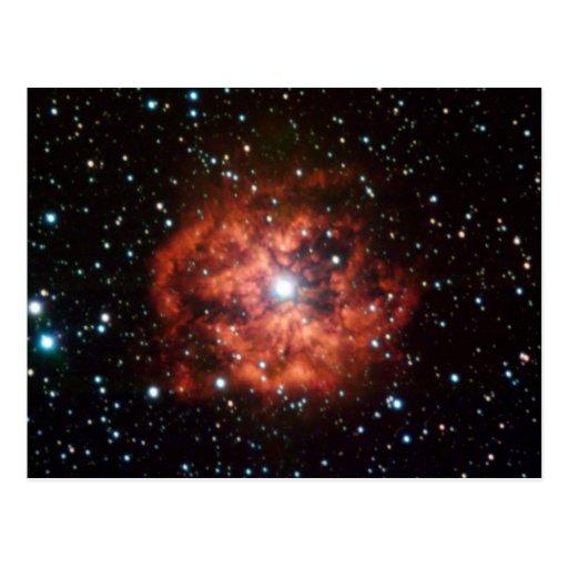 Estrella del Lobo-Rayet Postal