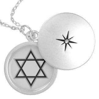 Estrella del Locket de David Medallón