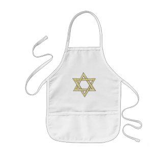 Estrella del Matzoh de David Delantal