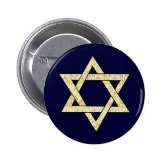 Estrella del Matzoh de David Pin