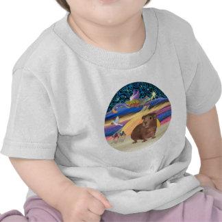 Estrella del navidad - conejillo de Indias 3 Camiseta
