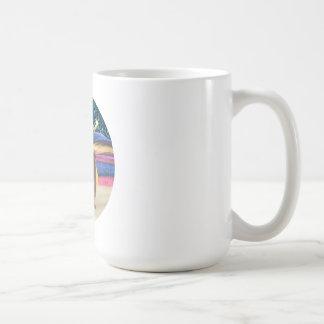 Estrella del navidad - conejillo de Indias 3 Tazas De Café