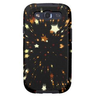 Estrella del navidad galaxy s3 funda
