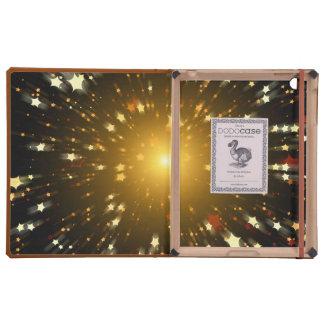 Estrella del navidad iPad carcasas