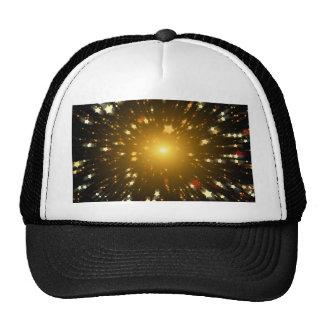 Estrella del navidad gorras