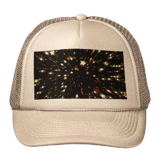 Estrella del navidad gorras de camionero
