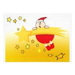 Estrella del navidad invitación