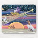 Estrella del navidad - Jack Russell Terrier Tapete De Ratón