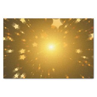 Estrella del navidad papel de seda pequeño
