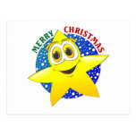 Estrella del navidad postal