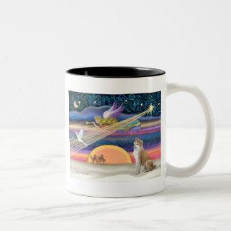 Estrella del navidad - Shiba Inu Tazas De Café