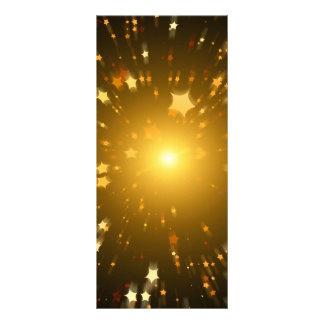 Estrella del navidad diseños de tarjetas publicitarias