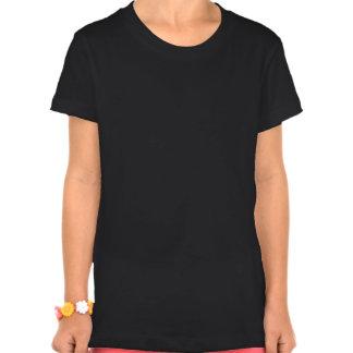 Estrella del nombre de Abby en el fuego Camisetas