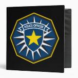 Estrella del oficial de policía