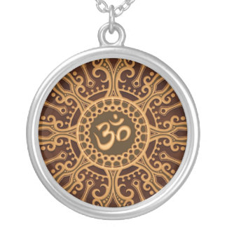 Estrella del ohmio (marrón de oro) joyerías