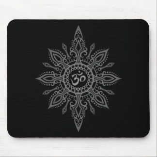Estrella del ohmio (oscura) tapete de ratón