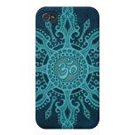 Estrella del ohmio (profundamente azul) iPhone 4 fundas