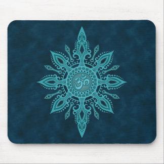 Estrella del ohmio (profundamente azul) tapete de ratones