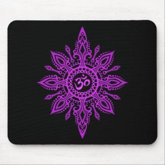 Estrella del ohmio (púrpura) alfombrilla de ratón