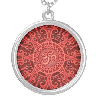 Estrella del ohmio (roja) joyería