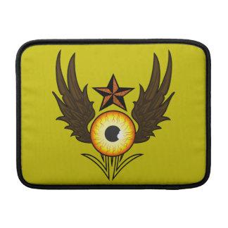 Estrella del ojo que vuela fundas macbook air