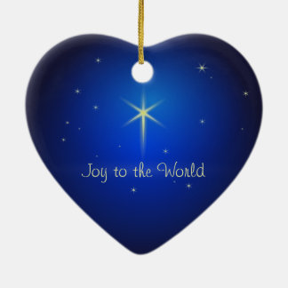 Estrella del ornamento del navidad de Belén Ornamento De Navidad