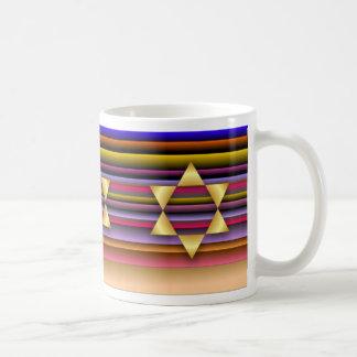 Estrella del oro de la taza de David