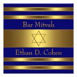 Estrella del oro de los azules marinos de la barra comunicados personalizados