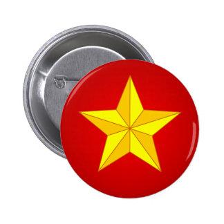 Estrella del oro pins