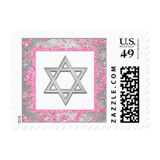 Estrella del país de las maravillas del invierno timbres postales