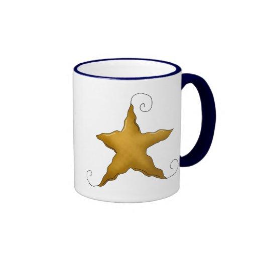 Estrella del país taza de dos colores