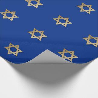 Estrella del papel de envoltorio para regalos del papel de regalo