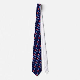 Estrella del ping-pong corbatas personalizadas