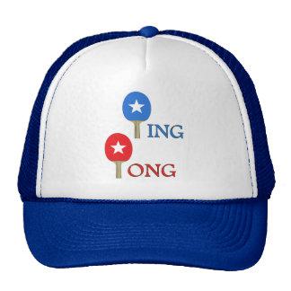 Estrella del ping-pong gorro de camionero