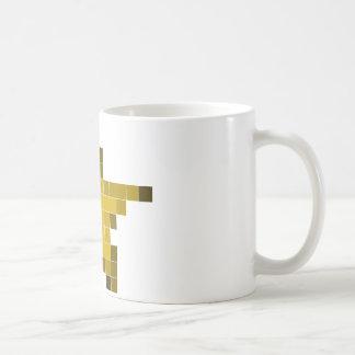 Estrella del pixel taza de café