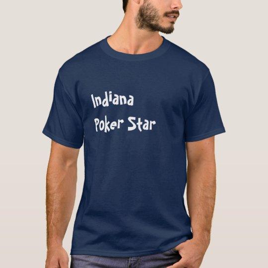 Estrella del póker de Indiana Playera