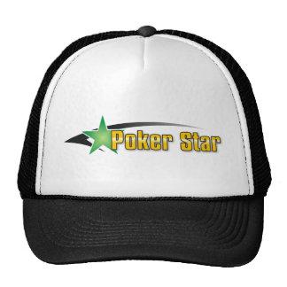 Estrella del póker gorra