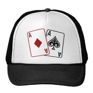 Estrella del póker gorro