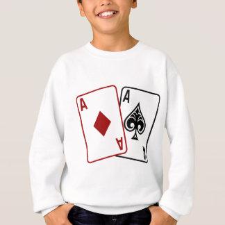 Estrella del póker sudadera