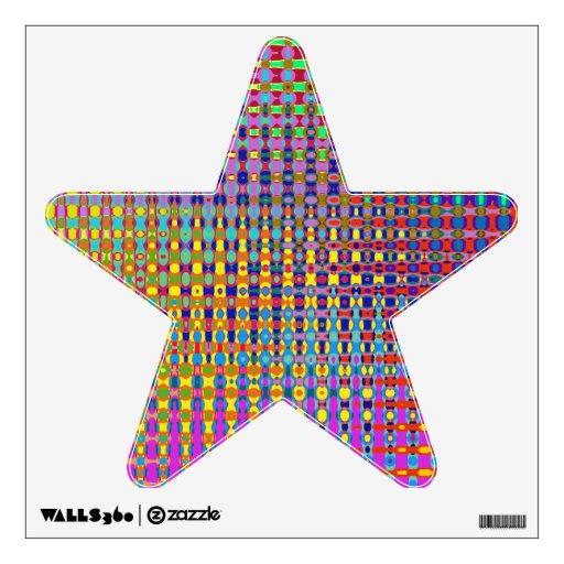 Estrella del Psychedelia con la etiqueta de la par