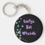 Estrella del regalo negro de Mitzvah del palo de l