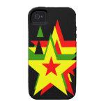 Estrella del reggae vibe iPhone 4 fundas