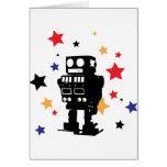 Estrella del robot felicitación