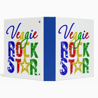"""Estrella del rock 2 del Veggie Carpeta 1 1/2"""""""