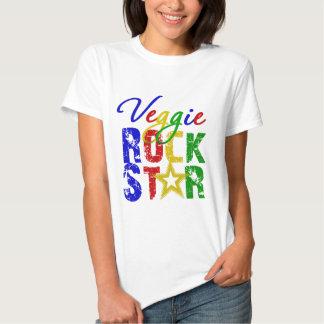 Estrella del rock 2 del Veggie Poleras