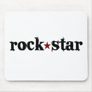 Estrella del rock alfombrillas de raton