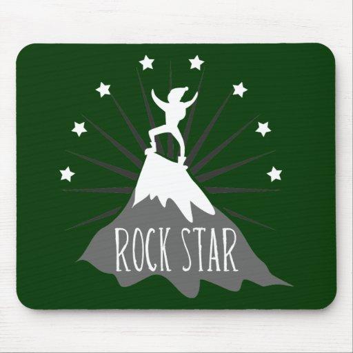 Estrella del rock alfombrillas de ratones