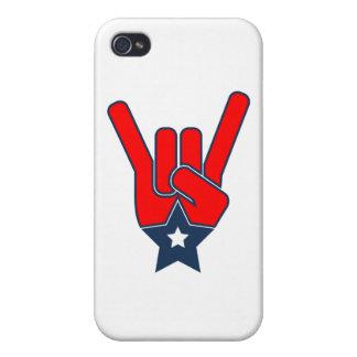 Estrella del rock americana iPhone 4 coberturas