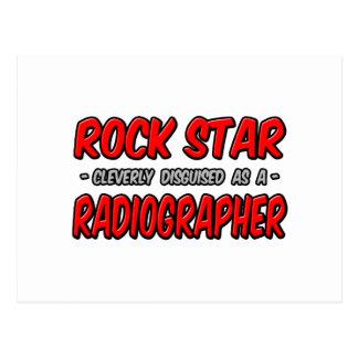 Estrella del rock. Ayudante radiólogo Tarjetas Postales