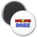 Estrella del rock Boss Imán Para Frigorifico